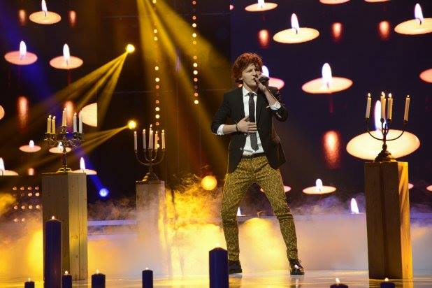 Bratis Performin Stop and Stare by One Republic at X factor Romania 2013. Antena 1